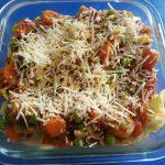 Fusilli-Gemüse-Auflauf